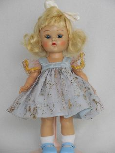 Vintage Ginny Doll Patent Pend