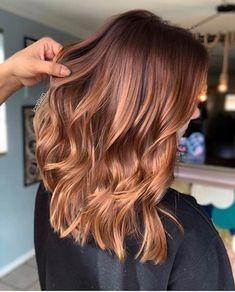 Hair Color Auburn, Hair Color Highlights, Red Hair Color, Brown Hair Colors, Copper Hair With Highlights, Red Brown Highlights, Hair Colour Ideas, Reddish Brown Hair Color, Hair Ideas