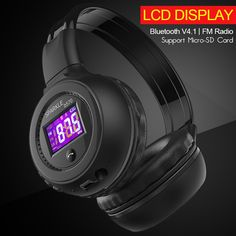 Cheap bluetooth headphones wireless headset, Buy Quality wireless headset directly from China headset with microphone Suppliers: ZEALOT HiFi Stereo Bluetooth Headphone Wireless Headset With Microphone Support FM Radio Micro-SD Card Play Bluetooth Headphones, Wireless Headphones, Hifi Stereo, Sd Card, Consumer Electronics, Clothing Accessories, Men's Clothing, January 2018, March