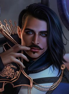 Looks like we have the go ahead to post our contributions to the Dorian artbook. Here's mine. :) I hope you guys like it. Looking back though I really wish I'd have gone with a closer shot like my...