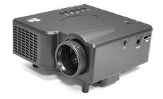 Multimedia Mini Projector with HDMI, AV VGA Inputs PRGJ45 | Groupon