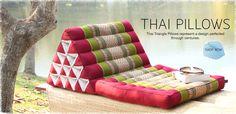 Bilderesultat for thai triangle pillow