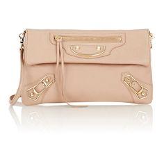 Balenciaga Metallic Edge Envelope (1,537,245 KRW) ❤ liked on Polyvore featuring bags, handbags, clutches, nude, balenciaga purse, balenciaga, nude handbags, pink clutches and pink metallic purse