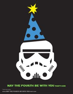 May the Fourth #starwarsday #stormtrooper