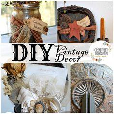 DIY Vintage Decor
