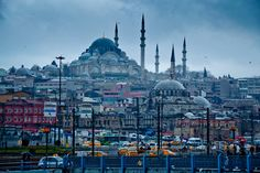 yellow on blue - Istanbul