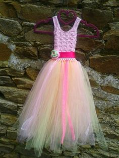 Crochet bodice tutu dress