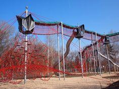 Landscape Architecture, Landscape Designs, Playgrounds, Climbing, Horses, Park, Places, Parenting, Animals