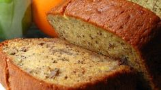 Janet's Rich Banana Bread absolutely the BEST banana bread I have ever made. I just added in a mashed banana and used half the amount of sour cream. Janet's Rich Banana Bread Recipe, Moist Banana Bread, Banana Bread Recipes, Janets Banana Bread Recipe, Banana Bread Reteta, Tortas Light, Gateaux Cake, Cooking Recipes, Healthy Recipes