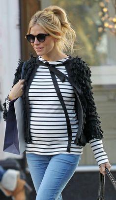 Sienna Miller  (¡embarazada!)