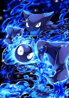 Haunter and Ghastly