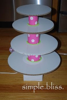 Simple Bliss: Cupcake Stand Tutorial Part 1