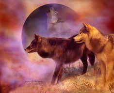 Spirits Of The Moon Mixed Media