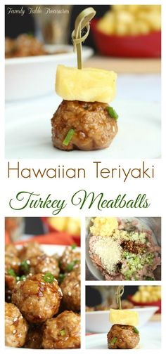 hawaiian food recipes One bite of these Hawaiian Teriyaki Meatballs and your taste buds will be saying Mahalo! Appetizer Recipes, Snack Recipes, Cooking Recipes, Beef Recipes, Kid Recipes, Drink Recipes, Italian Recipes, Recipies, Hawaiian Appetizers