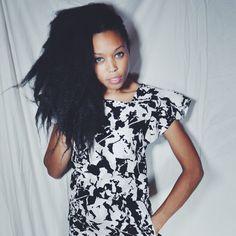 80s VINTAGE DRESS - David Warren New York Black and White Printed Dress by PrinceWednesday on Etsy