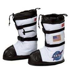 {NASA Astronaut Child Boots} Blast off!