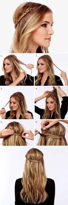 DIY Game of Thrones Braids diy long hair hair ideas diy ideas easy diy diy beauty diy hair diy fashion beauty diy diy style diy braid hairstyles diy hair style hair tutorials Coiffure Hair, Diy Hairstyles, Wedding Hairstyles, Hairstyle Tutorials, Braid Tutorials, Hairstyle Ideas, Easy Hairstyle, Bridesmaids Hairstyles, Simple Hairstyles
