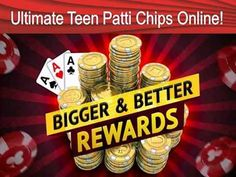 You can play Teen Patti in Multiple Language like English, Hindi, Marathi or Gujarati. If you are out of Teen Patti Chips, we will not let you sit for a while. Buy ultimate teen patti chips online through Buyultimateteenpattichips.com.   http://www.buyultimateteenpattichips.com/packages.php