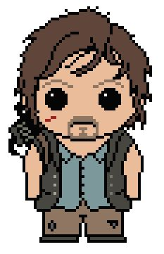 Looking for your next project? You're going to love The Walking Dead: Daryl Dixon by designer Shylah Addante.
