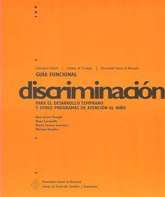 Guía funcional: discriminación para el desarrollo temprano y otros programas de atención al niño, 2008