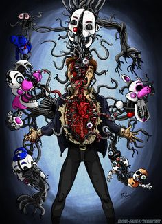 There is a little part of me in every body/FNAF SL by Edgar-Games.deviantart.com on @DeviantArt