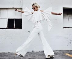 Happilygrey in all white Ellery