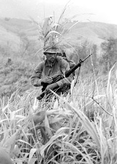 1 Jul 1967, Khe Sanh - US Marine Patrols Khe Sanh Perimeter | by tommy japan