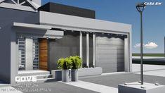 CASA moderna, AMPLIACIÓN, FACHADA Y COCHERA. ACTUALIZACIÓN. DISEÑO. ILUMINACION.  #Govearquitectura #Arquitectura