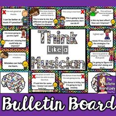 Looking for a way to encourage growth mindset in your music classroom? This music bulletin board is a perfect reminder for students to change their mindsets and improve their attitudes. Learn Singing, Singing Lessons, Music Lessons, Piano Lessons, Singing Tips, Reading Bulletin Boards, Teacher Bulletin Boards, Middle School Choir, Music School