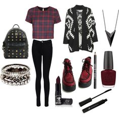 """""""Grunge"""" by phoebe-woods on Polyvore"""