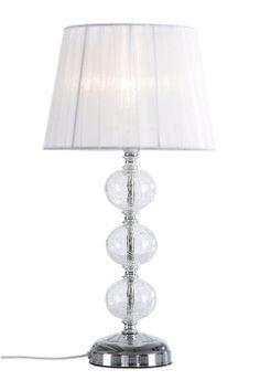 Ellos Home Vit/silverfärgad Bordslampa Greta
