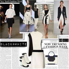 NYFW S/S15 Now Trending Black&White