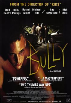 Bully: https://2aughlikecrazy.wordpress.com/2013/06/21/bully-a-true-story-of-high-school-revenge/