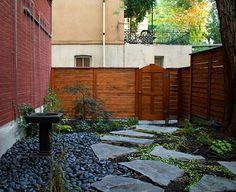 Rock garden floors