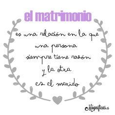 www.mugnificas.es Tazas y láminas para regalar. Diseños originales. Frases con diseño. El matrimonio