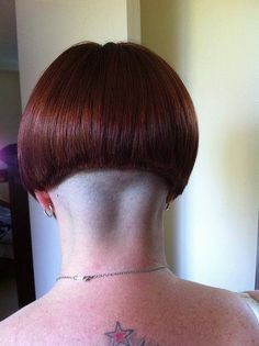 Shaved Nape on Pinterest | Shaved Head Designs, Nape Undercut and ...