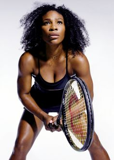 celebritiesofcolor: Serena Williams photographed by Christopher Griffth for The New York Times