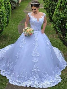 Exquisite Lace Short Sleeve Zipper Back Gown Boho Chic Wedding Dress Bridal Gown Wedding Dress for bride Important Notes: Our all wedding dresses need working days to finish produce as most of Light Blue Wedding Dress, Sheer Wedding Dress, Blue Wedding Dresses, Country Wedding Dresses, Bridal Dresses, Wedding Gowns, Lace Wedding, Copper Wedding, Orange Wedding