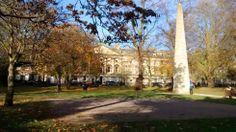 Queens Square (Pocket Park) - Bath, England.