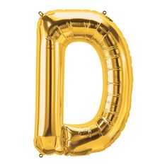 How do you spell fun? With this amazing gold mylar alphabet balloon! Check out these golden letter balloons and spell out a name, event or message.