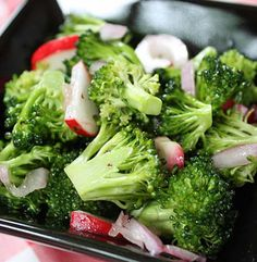 Broccoli Radish Salad | Simple Dish | Quick, Easy, & Healthy Recipes for Dinner