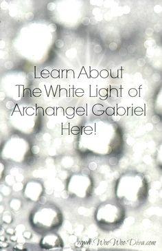 #Archangel #Gabriel silver light. Learn about him here!  www.woowoo-diva.com/gabriel-archangel.html