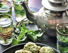 Falafel aus dem Backofen mit Baba Ganoush