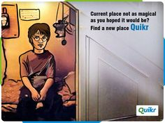 Find a new place at Quikr.