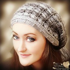 Ravelry: The Stella Slouch Hat pattern by The Hooked Haberdasher-$2.99 for pattern