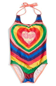 PILYQ One-Piece Swimsuit (Toddler Girls & Little Girls) available at #Nordstrom