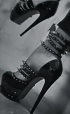 spikes, heels, stillettos, pumps - for when you're feeling badass ;)