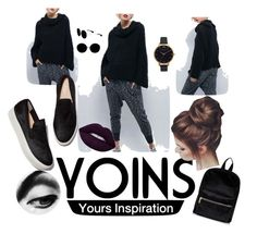 """""""yoins"""" by sejlabrkic ❤ liked on Polyvore featuring Miu Miu, Olivia Burton, yoins and loveyoins"""