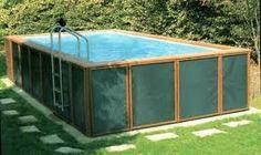 15 meilleures images du tableau habillage piscine hors sol. Black Bedroom Furniture Sets. Home Design Ideas