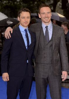 X-Men: 14 Reasons Why The James McAvoy And Michael Fassbender BROMANCE Is All We Can Think About | omg - Yahoo Movies UK